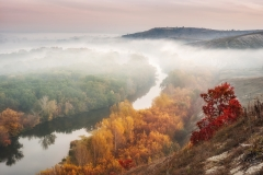 Riserva naturale di Chalkland, Oblast di Donetsk, Ucraina